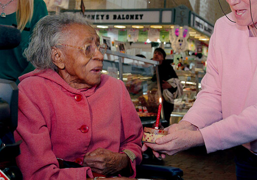 Celebrate Life - Mary's 100th Birthday